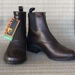 Ariat Paddock Zip Leather Boots 4LR